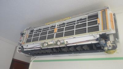 エアコン掃除 福島区・西淀川区・此花区・大阪市西区・港区